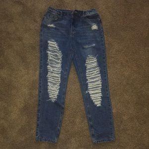 Missguided Boyfriend Jeans